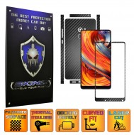 Xiaomi Mi Mix 2 - Folie Full Body AutoAdeziva Carbon SKINZ , Textura 3D