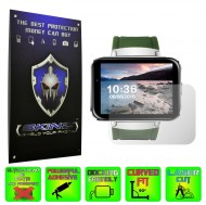Smartwatch Lemfo LEM4 - Folie SKINZ Protectie Ecran Ultra Clear HD (Set 2 Folii)