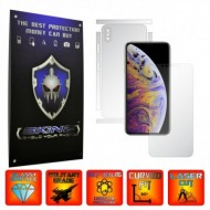 Apple iPhone XS Max - Folie INVISIBLE SKINZ UHD, Protectie Full Body Ultra Clear AutoRegeneranta, Acoperire Totala (Ecran,Carcasa,Laterale), Full Glue