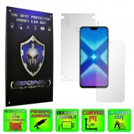 Huawei Honor 8X - INVISIBLE SKINZ HD 360° CUT, Folie Protectie Ultra-Clear sau Mata Antiamprenta, Full Body Cover (Ecran,Carcasa Spate,Laterale),Full Glue