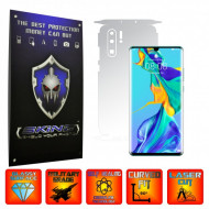 Huawei P30 Pro New Edition - INVISIBLE SKINZ UHD AutoRegeneranta 360° CUT, Folie Protectie Ultra-Clear pentru Carcasa, Full Case Cover (Carcasa Spate si Laterale),Full Glue