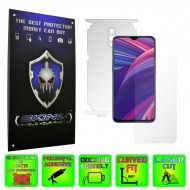 Oppo RX17 Pro - INVISIBLE SKINZ HD 360° CUT, Folie Protectie Ultra-Clear sau Mata Antiamprenta, Full Body Cover (Ecran,Carcasa Spate,Laterale),Full Glue