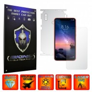 Xiaomi Redmi Note 6 Pro - INVISIBLE SKINZ UHD AutoRegeneranta 360° CUT, Folie Protectie Ultra-Clear Full Body Cover (Ecran,Carcasa Spate,Laterale),Full Glue