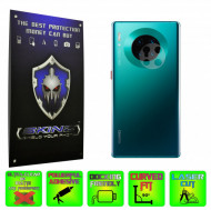 Huawei Mate 30 Pro - Set 2x Folie Protectie Camera INVISIBLE SKINZ HD Ultra-Clear sau Mata Antiamprenta, Full Glue