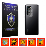 Huawei P40 Pro - Set 2x Folie Protectie Camera INVISIBLE SKINZ UHD AutoRegeneranta, Ultra-Clear, Full Glue