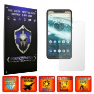 Motorola One Power (P30 Note) - INVISIBLE SKINZ UHD AutoRegeneranta, Folie Protectie Ecran Ultra-Clear, Full Display Cover,Full Glue