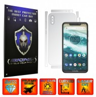 Motorola One Power (P30 Note) - INVISIBLE SKINZ UHD AutoRegeneranta - SPLIT CUT, Folie Protectie Ultra-Clear pentru Carcasa, Full Case Cover (Carcasa Spate si Laterale),Full Glue