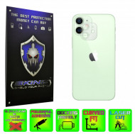 Apple iPhone 12 Mini - Set 4x Folie Protectie Camera INVISIBLE SKINZ HD Ultra-Clear sau Mata Antiamprenta, Full Glue