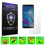 Asus Zenfone Max Pro (M1) - INVISIBLE SKINZ HD, Folie Protectie Ecran Ultra-Clear sau Mata Antiamprenta, Full Display Cover,Full Glue