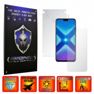 Huawei Honor 8X - INVISIBLE SKINZ UHD AutoRegeneranta 360° CUT, Folie Protectie Ultra-Clear Full Body Cover (Ecran,Carcasa Spate,Laterale),Full Glue
