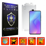 Huawei P Smart Z - INVISIBLE SKINZ UHD AutoRegeneranta - SPLIT CUT, Folie Protectie Ultra-Clear pentru Carcasa, Full Case Cover (Carcasa Spate si Laterale),Full Glue