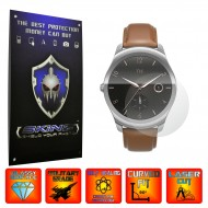 Mobvoi Ticwatch 2 - Folie INVISIBLE SKINZ UHD, Protectie de Ecran Ultra Clear AutoRegeneranta, Full Glue ( Set 2 Folii)