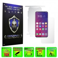 Oppo Find X - INVISIBLE SKINZ HD 360° CUT, Folie Protectie Ultra-Clear sau Mata Antiamprenta, Full Body Cover (Ecran,Carcasa Spate,Laterale),Full Glue
