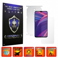 Oppo RX17 Pro - INVISIBLE SKINZ UHD AutoRegeneranta 360° CUT, Folie Protectie Ultra-Clear Full Body Cover (Ecran,Carcasa Spate,Laterale),Full Glue