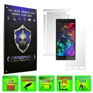 Razer Phone 2 - INVISIBLE SKINZ HD - SPLIT CUT, Folie Protectie Ultra-Clear sau Mata Antiamprenta, Full Body Cover (Ecran,Carcasa Spate,Laterale),Full Glue