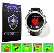 Smartwatch Lemfo LEM5 - Folie SKINZ Protectie Ecran Ultra Clear HD (Set 2 Folii)