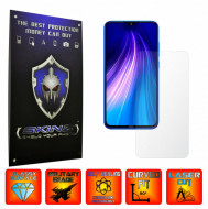 Xiaomi Redmi Note 8 - INVISIBLE SKINZ UHD AutoRegeneranta, Folie Protectie Ecran Ultra-Clear, Full Display Cover,Full Glue