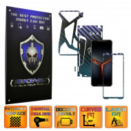 Asus ROG Phone 2 II - Folie Protectie Full Body CARBON SKINZ, Skin Adeziv CARBON CAMELEON 360° CUT