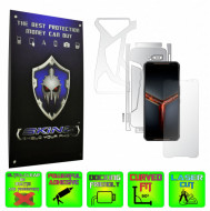 Asus ROG Phone 2 II - Folie Protectie Full Body Ultra-Clear sau Mata Antiamprenta, INVISIBLE SKINZ HD - SPLIT CUT