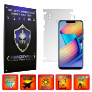 Huawei Honor Play - INVISIBLE SKINZ UHD AutoRegeneranta 360° CUT, Folie Protectie Ultra-Clear pentru Carcasa, Full Case Cover (Carcasa Spate si Laterale),Full Glue