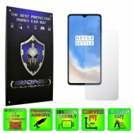 OnePlus 7T - INVISIBLE SKINZ HD, Folie Protectie Ecran Ultra-Clear sau Mata Antiamprenta, Full Display Cover,Full Glue