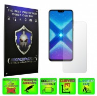 Huawei Honor 8X - INVISIBLE SKINZ HD, Folie Protectie Ecran Ultra-Clear sau Mata Antiamprenta, Full Display Cover,Full Glue