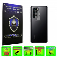 Huawei P40 Pro - Set 2x Folie Protectie Camera INVISIBLE SKINZ HD Ultra-Clear sau Mata Antiamprenta, Full Glue