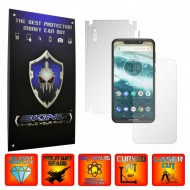 Motorola One Power (P30 Note) - INVISIBLE SKINZ HD 360° CUT, Folie Protectie Ultra-Clear sau Mata Antiamprenta, Full Body Cover (Ecran,Carcasa Spate,Laterale),Full Glue