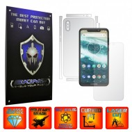 Motorola One Power (P30 Note) - INVISIBLE SKINZ UHD AutoRegeneranta - SPLIT CUT, Folie Protectie Ultra-Clear Full Body Cover (Ecran,Carcasa Spate,Laterale),Full Glue