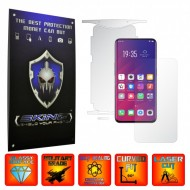 Oppo Find X - INVISIBLE SKINZ UHD AutoRegeneranta 360° CUT, Folie Protectie Ultra-Clear Full Body Cover (Ecran,Carcasa Spate,Laterale),Full Glue