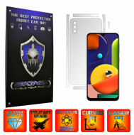 Samsung Galaxy A50s - INVISIBLE SKINZ UHD AutoRegeneranta - SPLIT CUT, Folie Protectie Ultra-Clear pentru Carcasa, Full Case Cover (Carcasa Spate si Laterale),Full Glue