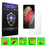 Samsung Galaxy S21 Ultra - INVISIBLE SKINZ HD, Folie Protectie Ecran Ultra-Clear sau Mata Antiamprenta, Full Display Cover,Full Glue