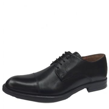 Poze Pantofi barbati din piele Wanted negri