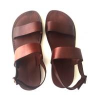 Sandale romane Sol maro