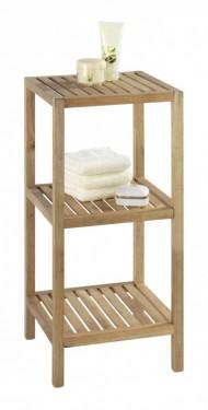 Dulapior lemn 3 rafturi pentru baie