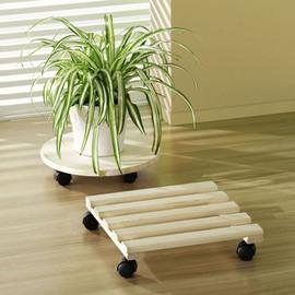 Suport ghiveci plante lemn 36x36cm