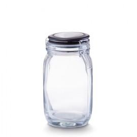 Borcan sticla cu capac 1500 ml