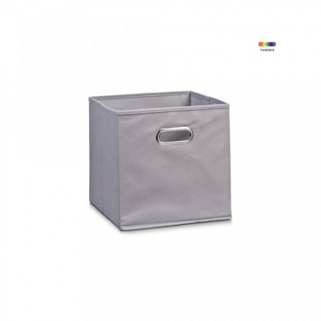 Cos gri din fleece storage box 28 x 28 x 28 cm