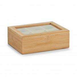 Cutie din bambus pentru ceai