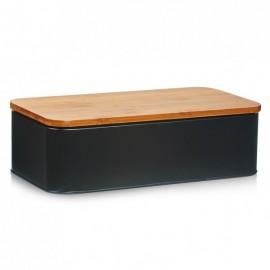 Cutie pentru paine cu capac de bambus,Zeller E