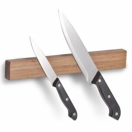 Suport magnetic pentru cutite - bambus