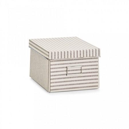 Cutie cu capac,bej,din carton,36 x 25 x 15 cm