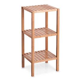 Dulap din 3 rafturi bambus 37x33x80cm