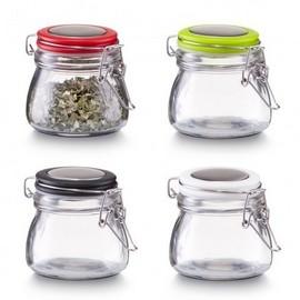 Recipient condimente sticla cu clips