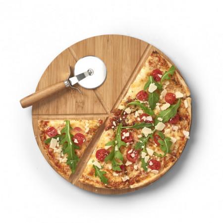 SET PLATOU SI CUTIT PENTRU SERVIT PIZZA,ZELLER