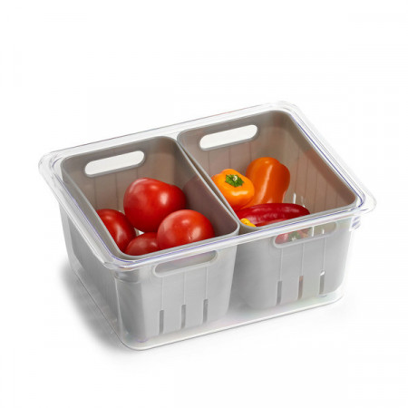Cutie 2 compartimente pentru frigider,Zeller