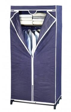 Dulap din panza ,cu compartiment separat de depozitare