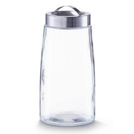 Borcan sticla 2000ml + capac inox Ø12,5x26