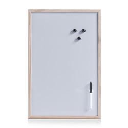 Placa magnetica,cadru lemn de pin,40 x 60 cm,Zeller