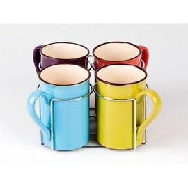 Set 4 cani ceramica Vabene VB-6050053